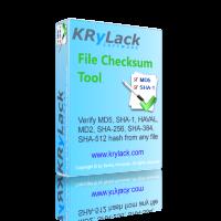 File Checksum Tool - KRyLack Software