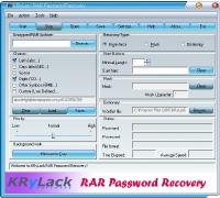 KRyLack RAR Password Recovery - KRyLack Software