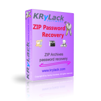 Free ZIP Password Recovery - KRyLack Software